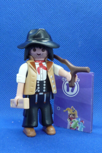 New Open Packaging Playmobil SW-23 Series-17 Boys 70242 Prospector Man Figure