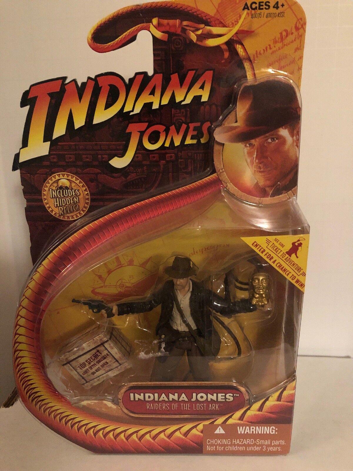Indiana jones action - figur   jäger des verlorenen schatzes
