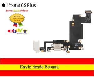 Conector-Carga-para-Iphone-6S-Plus-Color-Gris-o-Blanco-Jack-Auricular-Microfono