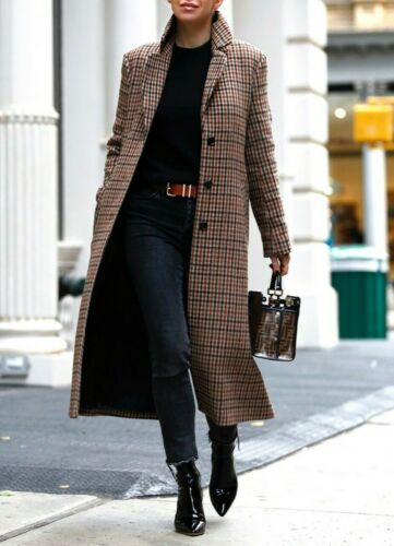 & other stories plaid coat