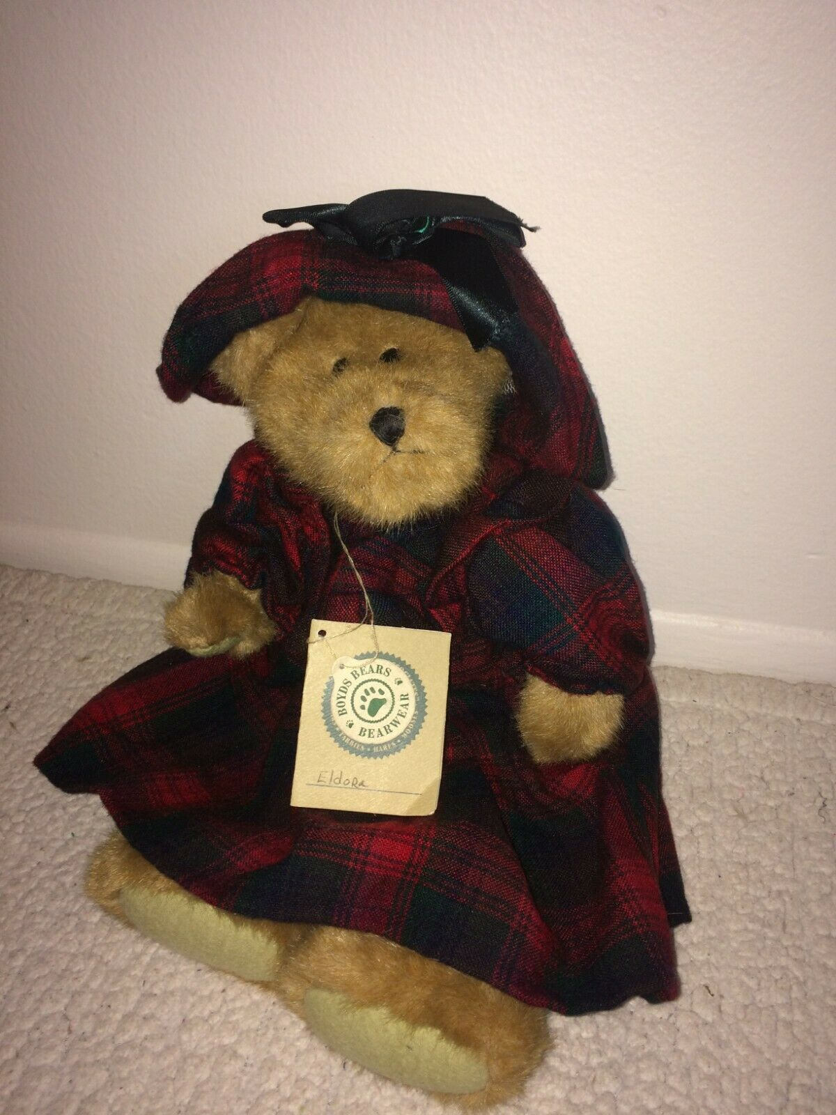 "Boyds Bears 10/"" Paddy O/'Shea Irish St Patrick/'s Day Plush Bear 4032073 Retired"