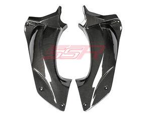 Kawasaki-ZX14R-ZX14-ZZR1400-Air-Duct-Dash-Ram-Tube-Cover-Fairings-Carbon-Fiber