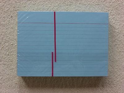 100 Karteikarten Din A6 Blau Beidseitig Liniert 100 Karten Für Karteikasten Rohstoffe Sind Ohne EinschräNkung VerfüGbar
