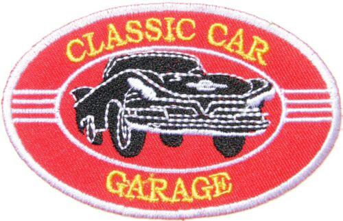 CLASSIC CAR GARAGE Automotive Performance Patch Iron on T shirt Jacket Vest Cap