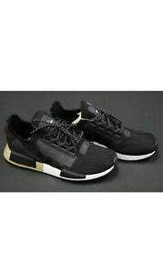 Fw5327 New Men S Adidas Originals Nmd R1 V2 Core Black Gold