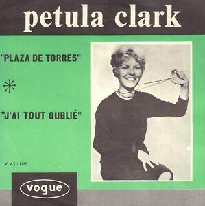 PETULA-CLARK-Plaza-De-Toros-RARE-1963-VINYL-SINGLE-7-034-HOLLAND