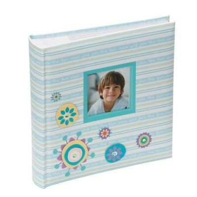 Blue Candy Childrens Photo Album With Motifs For 200 photos 6×4/'/' //10x15cm Pink