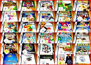 NINTENDODS-3DS-DSI-NEU-OVP-GAMES-AUSWAHL-PUZZLE-JEWELS-QUIZ-BUBBLE-SUDOKU-JUNIOR