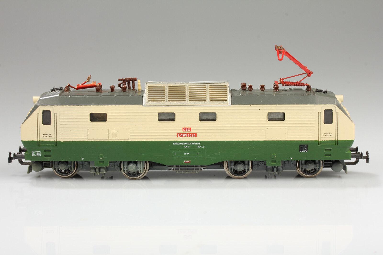 H0 Piko Csd 499 2026 Locomotora Funciona Luz Vale Rumpel Suciedad Arañazo