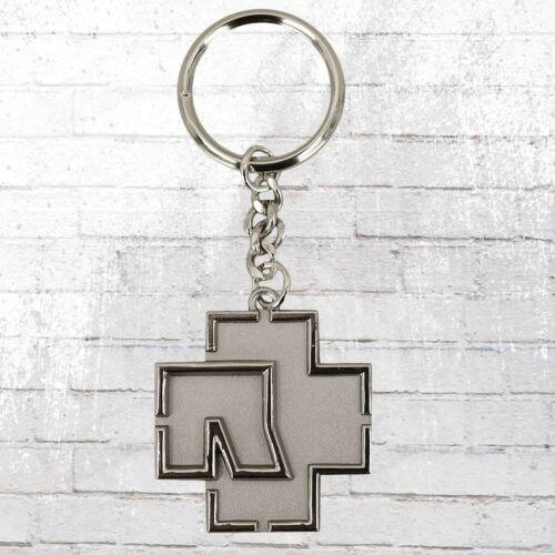 Merchcode Schlüssel-Anhänger Rammstein Logo silber