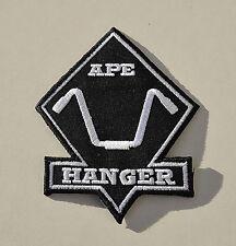 Apehanger,Biker Aufnäher,Old School,Patch,Chopper,Shovel,Evo,Harley,Pan,HD