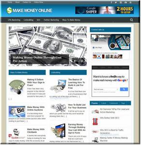 Make-Money-Online-Ideas-Wordpress-Website-Blog-with-Builtin-Amazon-Store