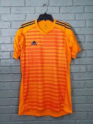 NWT $50 Adidas AdiPro 18 GK Jersey Men's Size M Orange ...