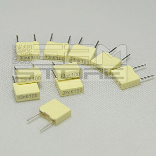 Article fu04 10 pcs Capacitor Polyester 3n3 100v P = 5mm