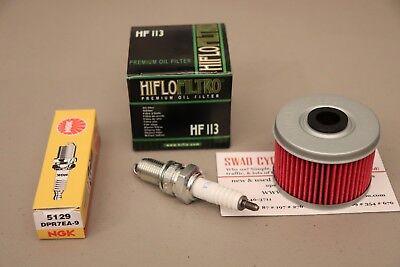 HONDA 1995-2002 TRX400FW FOURTRAX FOREMAN OIL FILTER SPARK PLUG