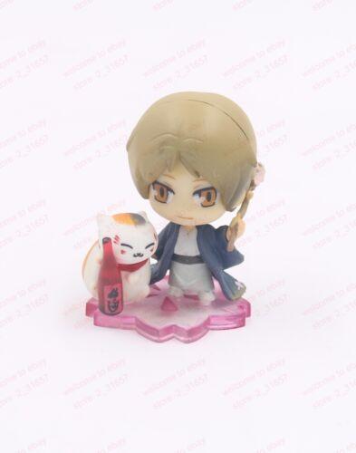 Petit Chara Land Natsume/'s Book of Friends Takashi seasons mini figure toy 5+1