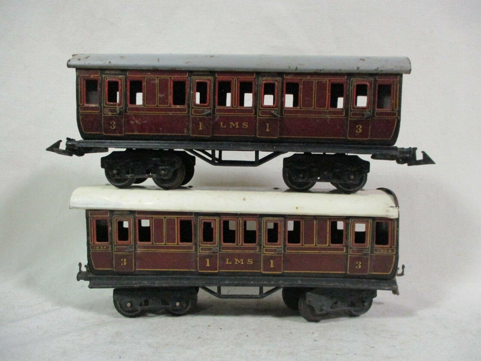 Un par de autobuses Bing LMS 1924 y no no no numerados, clase I y clase III b72 - 78 c2b