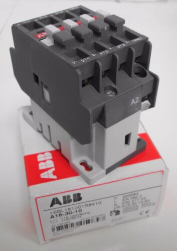 ABB A16-30-10-84 1SBL181001R8410 Contactor 110-120V Coil 3P **USA Seller**