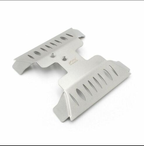 Chassis and Sides Steel Chassis Armor Protection Kit for Axial Capra Diff