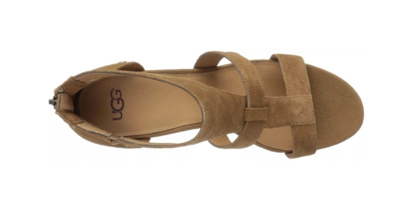 24fc6946e9f UGG Australia Women s Whitney Wedge Sandal Chestnut Size 6.5 1090791 for  sale online