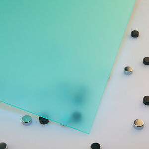"""1/8"""" Frosted Carribean Cell Cast Acrylic Sheet 24 x 48"""