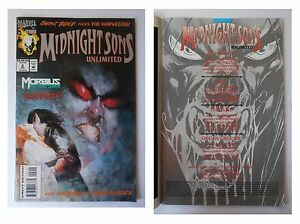 Midnight-Sons-Unlimited-2-Luglio-1993-Marvel-Comics-Ghost-Rider-Morbius
