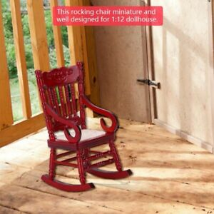 Knitted-Rope-Seat-Doll-Houses-Toy-1-12-Mini-Rocking-Chair-Dollhouse-Furniture