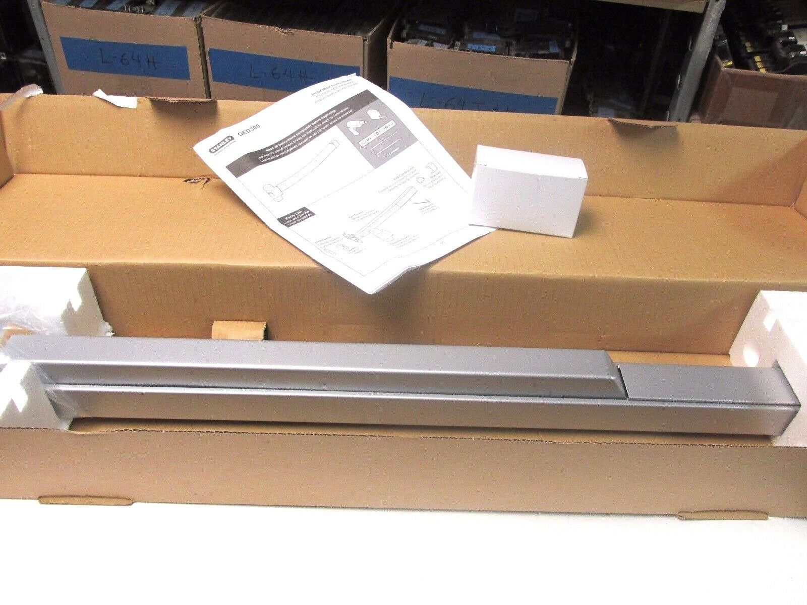 NIB Stanley Security Hardware Exit Device Model QED300 CatQED31336689.. UP-600