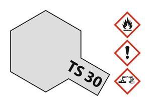 Tamiya Acryl Sprühfarbe TS-30 Metallic Silber glänzend 100ml #85030