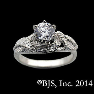 Official LORD OF THE RINGS Lorien Leaf NENYA RING OF GALADRIEL