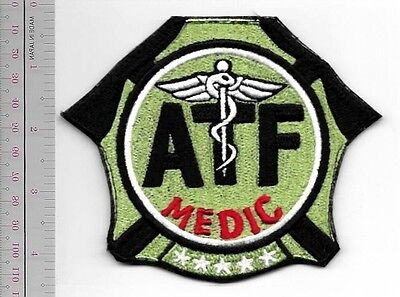 ATF Special Agent MEDIC Operational EMT Tactical Special Response Team vel hooks