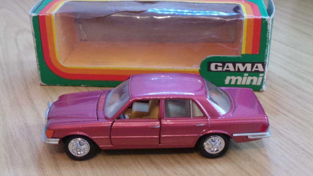 JB85  Gama - Mini Mercedes 350E - No 9680 - VGC