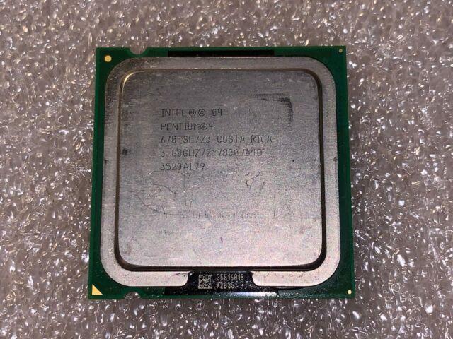2M socket 775 CPU processor SL7Z9 TESTED 800 MHz Intel Pentium 4 630 3.0 GHz