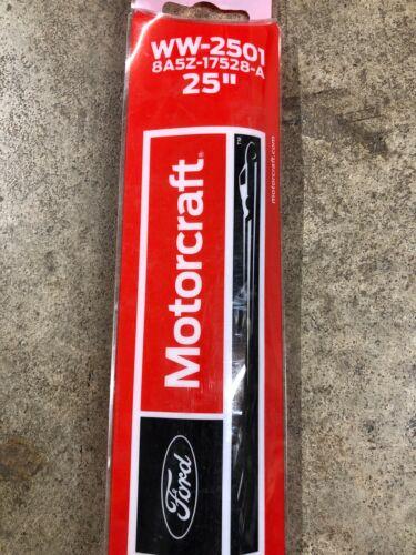 "1 MOTORCRAFT WW-2501 25/"" REPLACEMENT WINDSHIELD WIPER BLADE FOR TAURUS /& MKS"