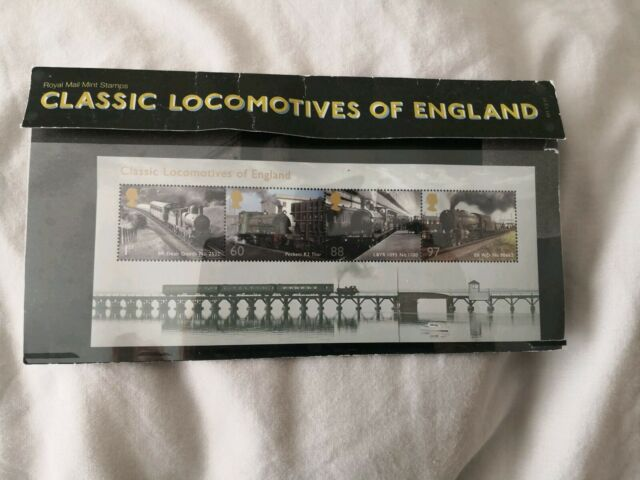 2011 Classic Locomotives of England Royal Mail mint stamps in presentation pack