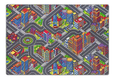 """Autoteppich // Spielteppich ERWEITERBAR F incl /"""" große Stadt mit Straßen /"""""""