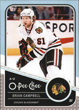 11-12 OPC O-Pee-Chee Brian Campbell Playoff Beards #7 Mint