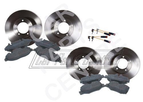 FOR MERCEDES VITO 639 FRONT REAR BRAKE DISCS PADS SET KIT SENSORS BOSCH TYPE 03