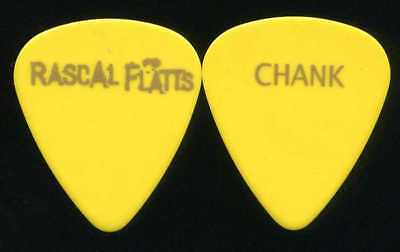 RASCAL FLATTS 2009 Unstoppable Tour Guitar Pick!! CHANK custom stage Pick
