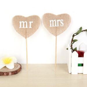Love-flowers-Natural-Jute-Burlap-Hessian-Vintage-Wedding-Decoration-Rustic-RX