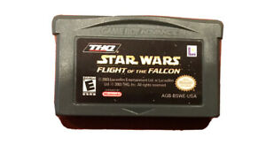 STAR WARS: FLIGHT OF THE FALCON NINTENDO GAME BOY ADVANCE GBA 275