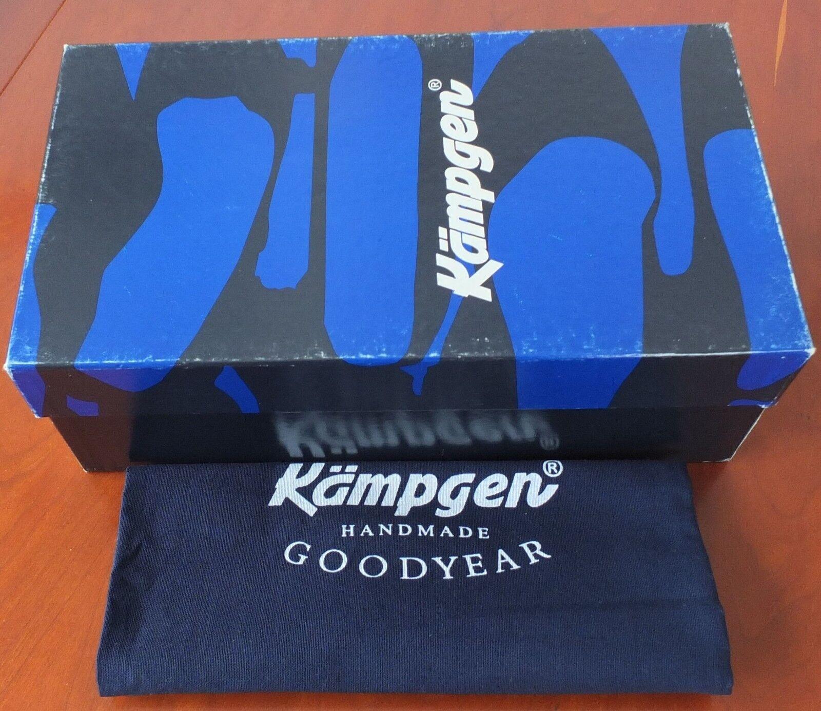 Original Kämpgen braun Handmade Goodyear Schuhe Leder braun Kämpgen in Größe 7 neu mit Karton 8f77fd
