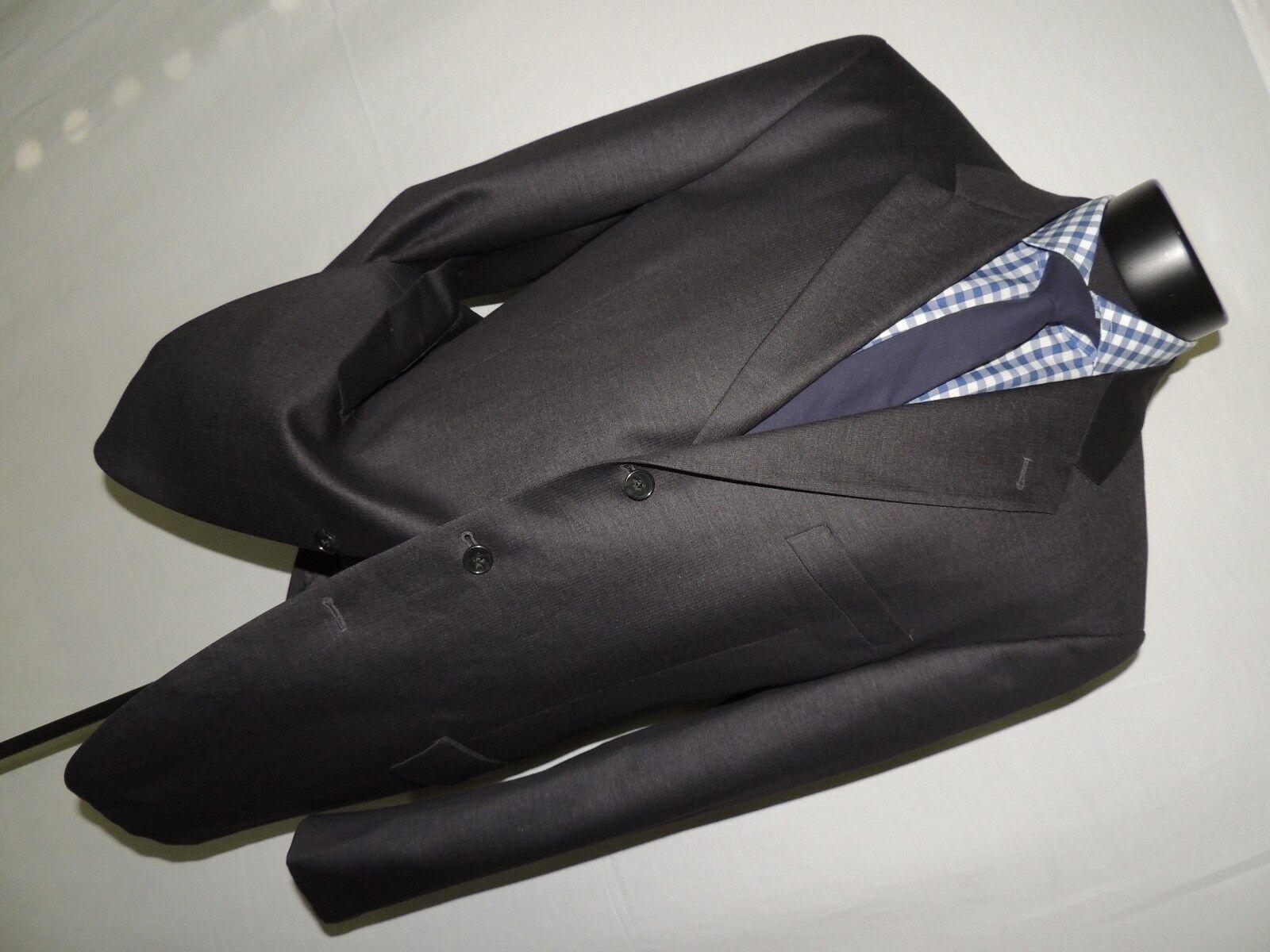 Exquisite Joseph Abboud Nordstrom Herren grau Suit 42 long pants 37X33.5