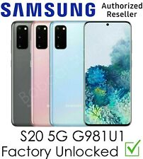 Samsung Galaxy S20 5G G981U1 Gray AT&T T-Mobile Sprint Verizon Factory Unlocked