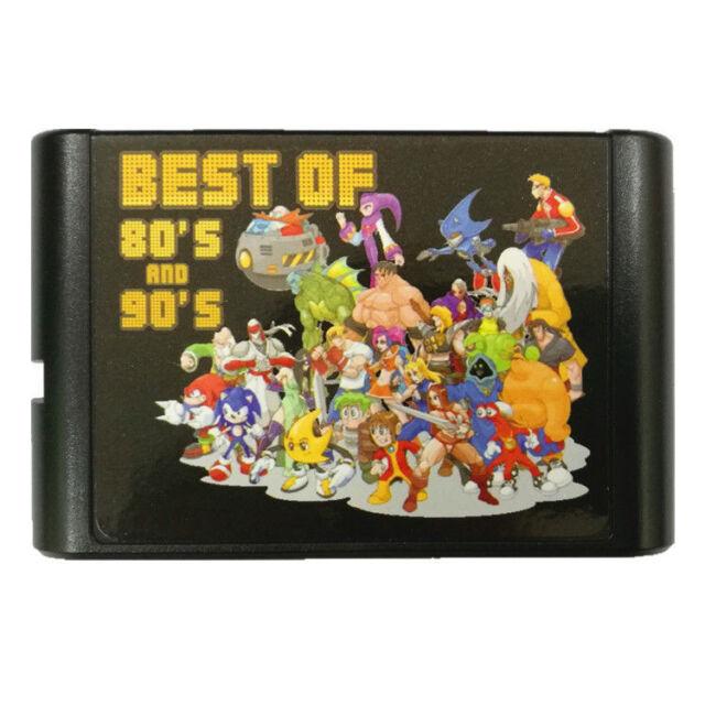 196 in 1 Sega Genesis Mega Drive Game Cartridge 16-Bit Multi Cart