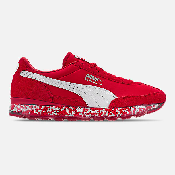 PUMA - JAMMING EASY RIDER - 367832 03 - Men's Athletic shoes - RED - Size 11.5