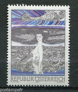 AUTRICHE-1977-timbre-1394-TABLEAU-HUTTER-PAINTING-neuf-VF-MNH-stamp