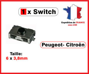 1-Switch-bouton-cle-telecommande-Peugeot-106-206-207-307-406-Citroen-xsara-C3-C5
