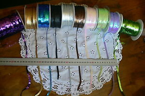 Opal-Sequin-String-10-Colours-Choice-6mm-wide-5-Metre-Lengths-Green-Tara-ARD12