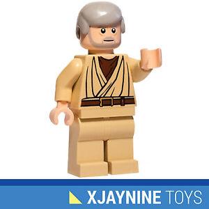 LEGO-STAR-CLONE-WARS-Obi-Wan-Kenobi-Old-Ben-Version-Minifig-NEW-RARE-8092